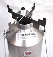 1.0ltr Whistling Explorer Ghillie Kettle - Choice of Models & Accessories